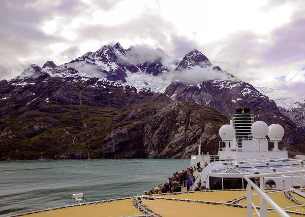 Wall Art - Photograph - Alaska Glacier Bay Cruise by Madeline Ellis