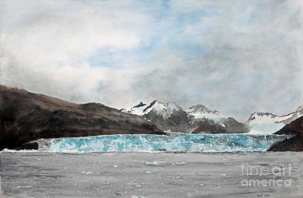Painting - Alaska Ice by Monte Toon