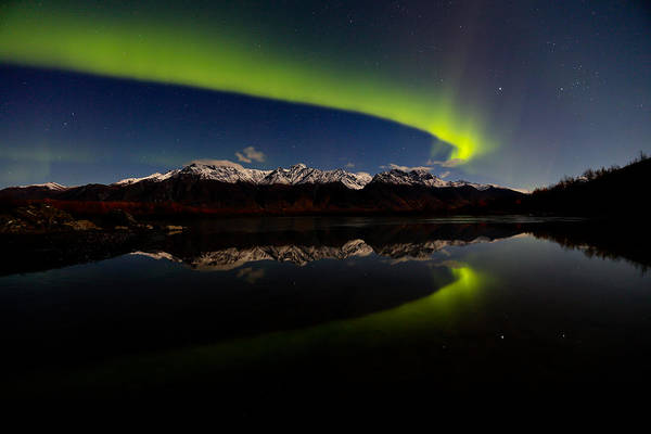 Alaska Northern Lights Art Print by Sam Amato