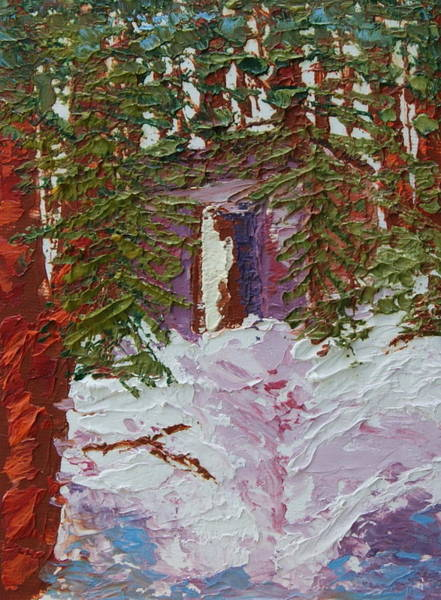 Painting - Alaska Outhouse by Chrys Wilson