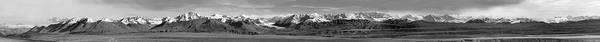 Photograph - Alaska Range Bw by Peter J Sucy