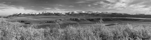 Photograph - Alaska Range Pano 2 by Peter J Sucy