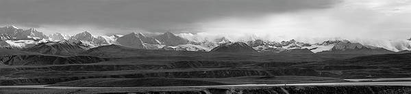 Photograph - Alaska Range Right Panel by Peter J Sucy