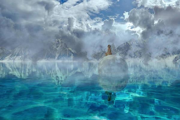 Stormy Digital Art - Alaskan Avalon by Betsy Knapp