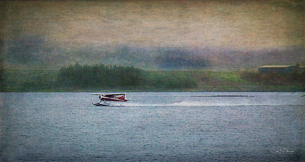 Digital Art - Alaskan Floatplane by Carol Fox Henrichs