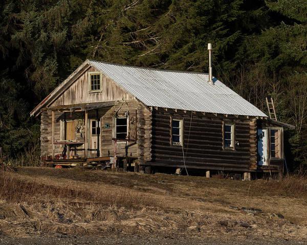 Photograph - Alaskan Home by Ian Johnson