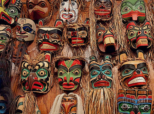 Photograph - Alaskan Masks by Kathi Shotwell