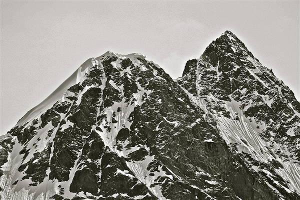 Photograph - Alaskan Peaks by Diana Hatcher