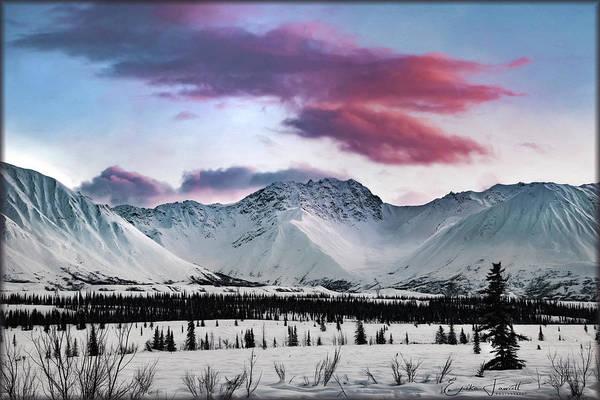 Photograph - Alaskan Range At Sunset by Erika Fawcett