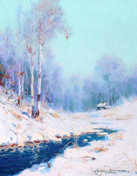 Wall Art - Painting - Alaskan Winter by Sydney Mortimer Laurence