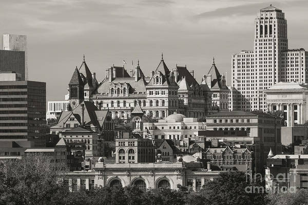 Alfred E. Smith Building Photograph - Albany At A Glance by Kim Clune