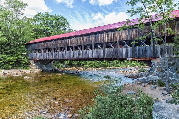 Photograph - Albany Covered Bridge Albany New Hampshire by Brian MacLean