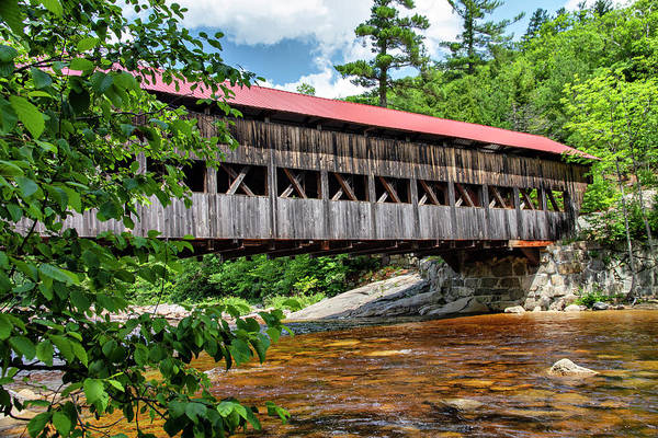 Photograph - Albany Covered Bridge  by Betty Pauwels