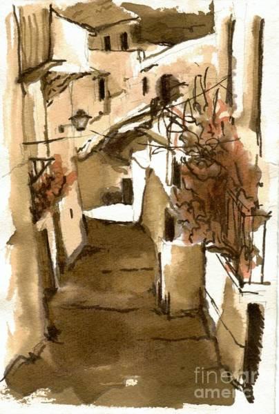 Painting - Albaycin Granada by Karina Plachetka