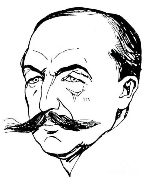 Wall Art - Drawing - Albert Carre by Aristide Delannoy