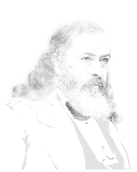Digital Art - Albert Pike by John Feiser