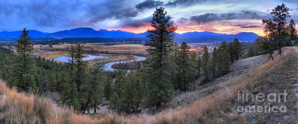 Photograph - Alberta Columbia Wetlands Panorama by Adam Jewell