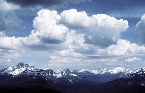 Alberta Mountain Panorama Art Print