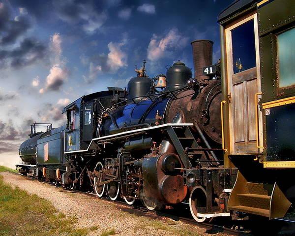Photograph - Alberta Prairie Railway by Anthony Dezenzio