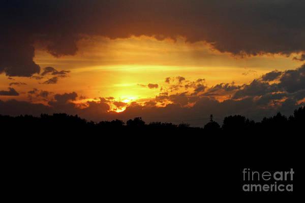 Photograph - Alberta Sunset by Ann E Robson