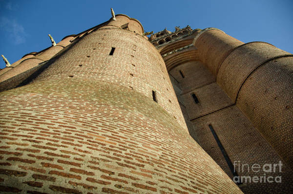 Photograph - Albi Cathedral Low Angle by RicardMN Photography