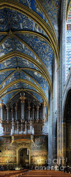 Photograph - Albi Cathedral Nave by RicardMN Photography