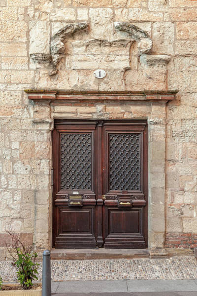 Wall Art - Photograph - Albi Door Number One by W Chris Fooshee