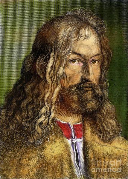 German Renaissance Drawing - Albrecht Durer, 1471-1528 by Granger