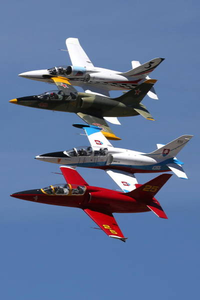 Photograph - Albtatros Fly-by At The Hollister Air Show by John King