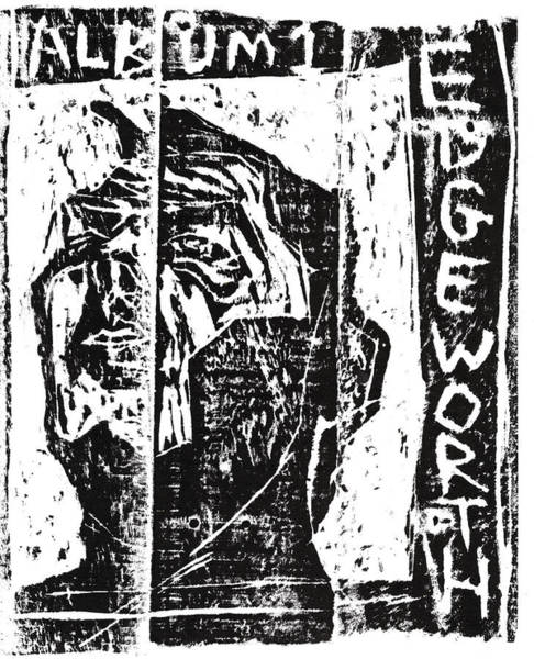 Relief - Album 1 Ep Cover Block Print by Artist Dot