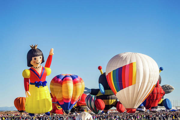 Photograph - Albuquerque Hot Air Balloon Festival by Robin Zygelman