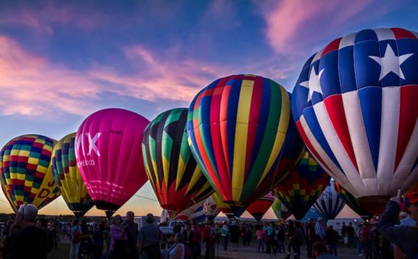 Photograph - Albuquerque Hot Air Balloon Fiesta by Ron Pate