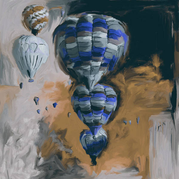 Mall Painting - Albuquerque International Balloon Fiesta 4 255 3 by Mawra Tahreem