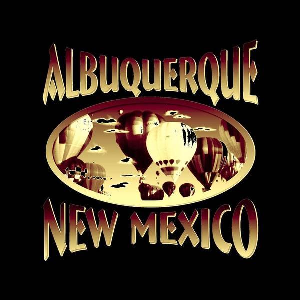 Clothing Design Mixed Media - Albuquerque New Mexico Design by Peter Potter
