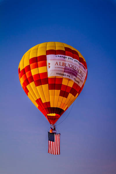 Photograph - Marauder's Mark - Albuquerque Stars And Stripes by Ron Pate