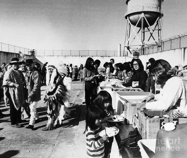 Photograph - Alcatraz Occupation, 1969 by Granger