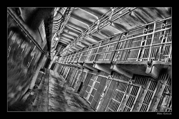 Alcatraz The Cells Art Print