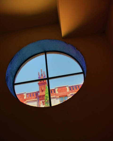 Lightner Museum Photograph - Alcazar Architecture Through The Window by Mitch Spence