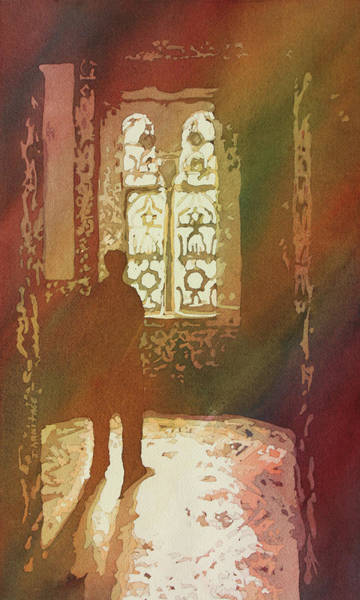 Painting - Alcazar Window by Jenny Armitage