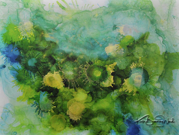 Painting - Alcohol Ink 1 by Kate Word