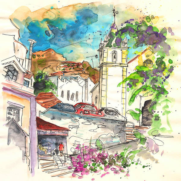 Painting - Alcoutim In Portugal 02 by Miki De Goodaboom