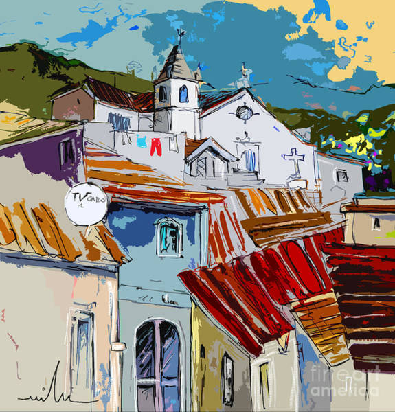 Painting - Alcoutim In Portugal 08 Bis by Miki De Goodaboom