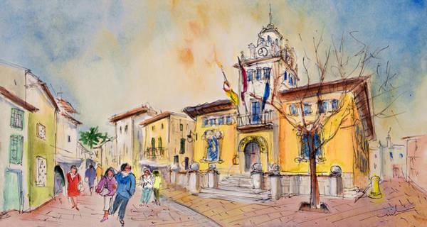 Painting - Alcudia Street In Majorca by Miki De Goodaboom