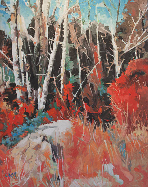 Painting - Alder Grove 3024 by Rob Owen