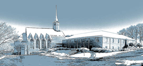 Wall Art - Digital Art - Aldersgate Umc by Greg Joens