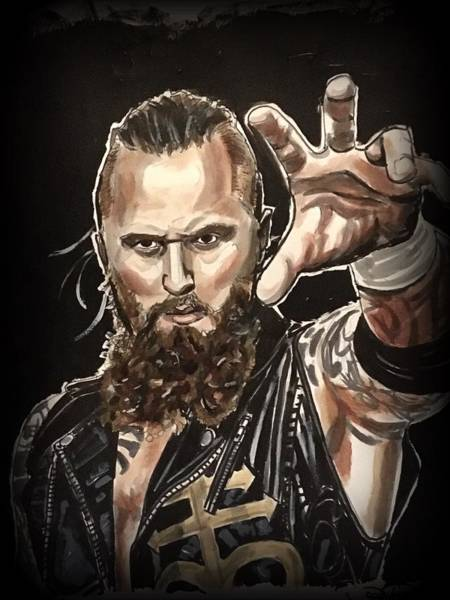 Painting - Aleister Black by Joel Tesch