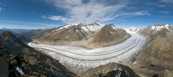 Wall Art - Photograph - Aletsch Glacier, Switzerland by Dr Juerg Alean