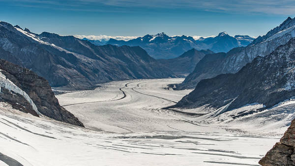 Photograph - Aletsch Gletscher Switzerland by Brenda Jacobs