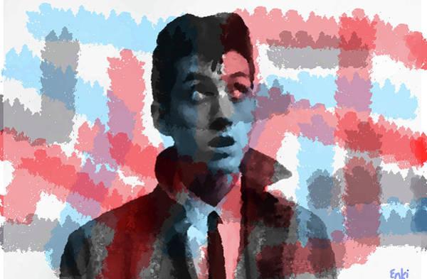 Iggy Pop Painting - Alex Turner An Arctic Monkey by Enki Art