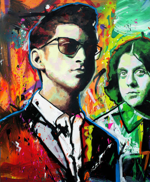 Indie Wall Art - Painting - Alex Turner by Richard Day